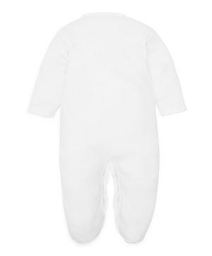 Basics Scalloped Footie 0-9 Months