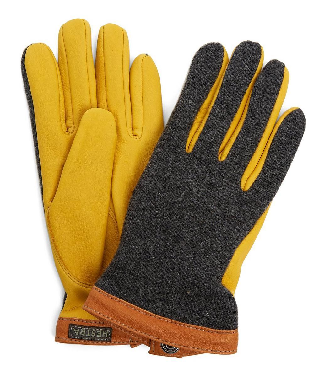 Hestra Gloves TRICOT DEERSKIN WOOL GLOVES 8-10