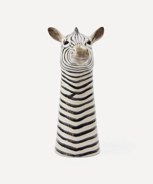 Quail - Large Zebra Vase
