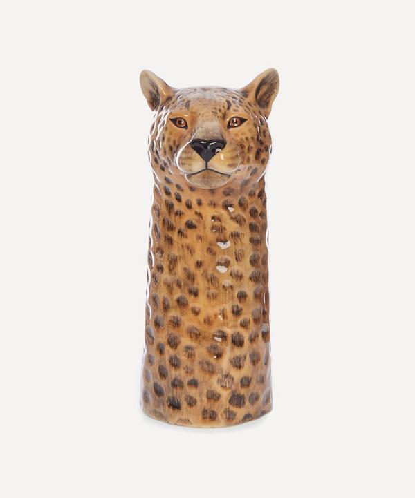 Quail - Large Leopard Vase