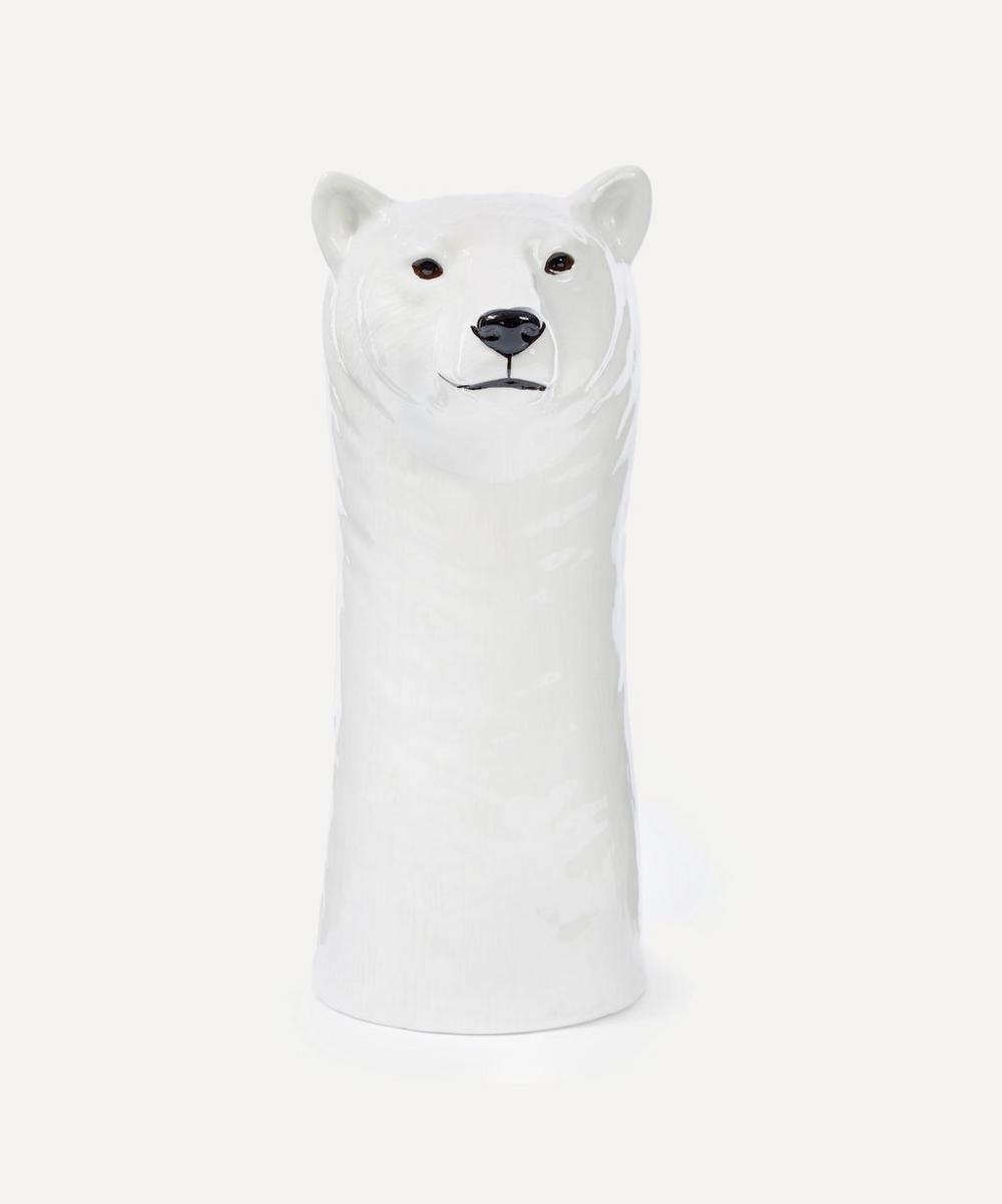 Large Polar Bear Vase