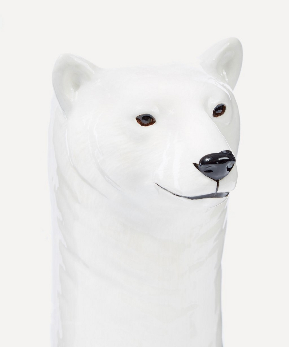 Large Polar Bear Vase