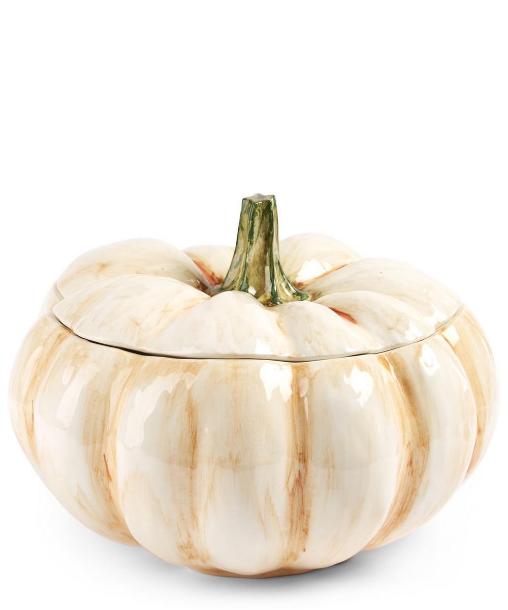 Ceramic Pumpkin Tureen