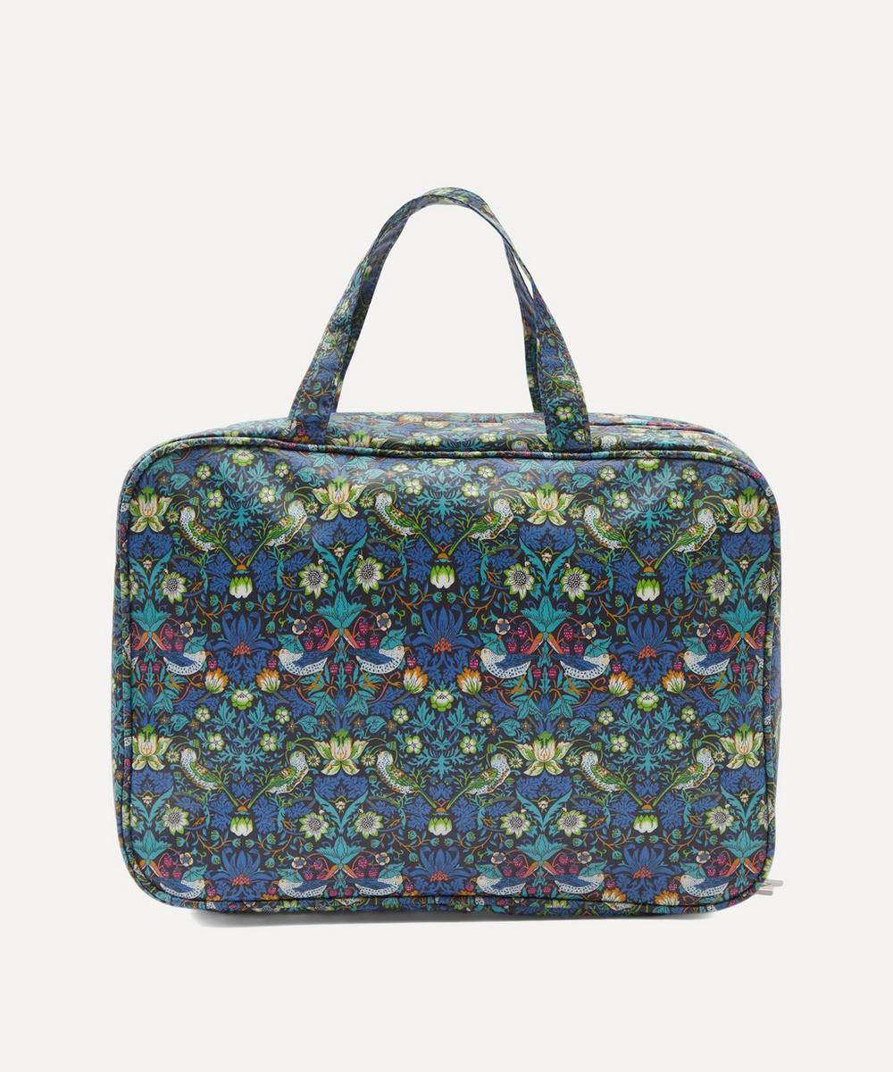 Liberty - Weekender Strawberry Thief Wash Bag