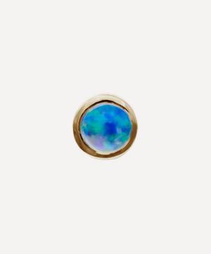 2mm Opal Threaded Stud Earring