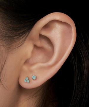 2mm Opal Threaded Stud Earring