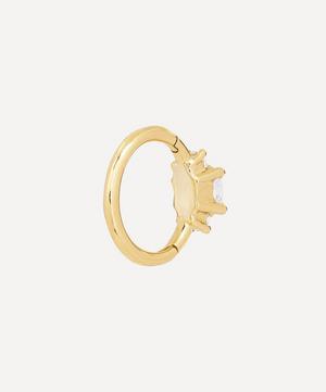 "1/4"" 2mm Diamond Princess Earring"
