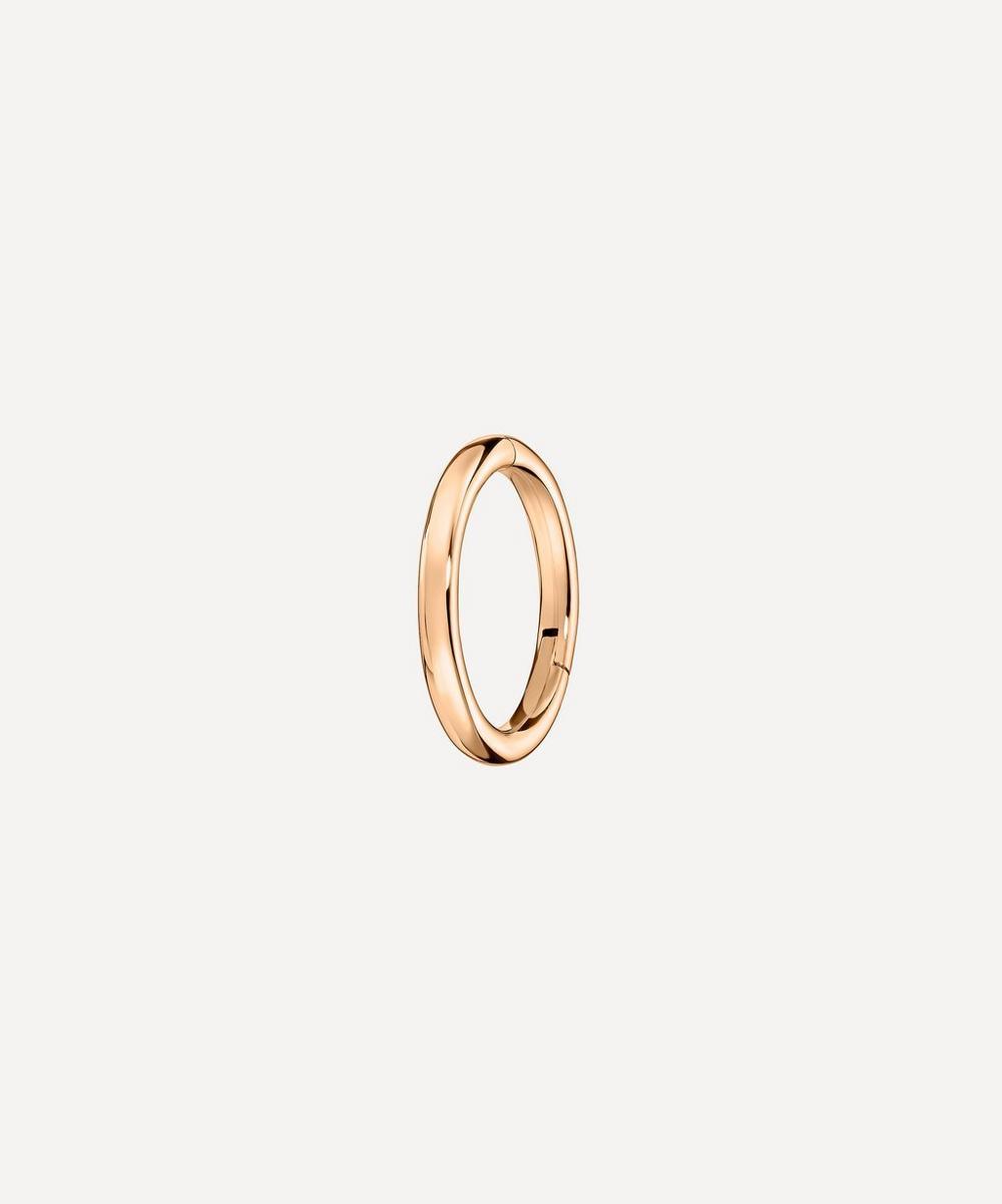 Maria Tash - 14ct 6.5mm Plain Single Hoop Earring