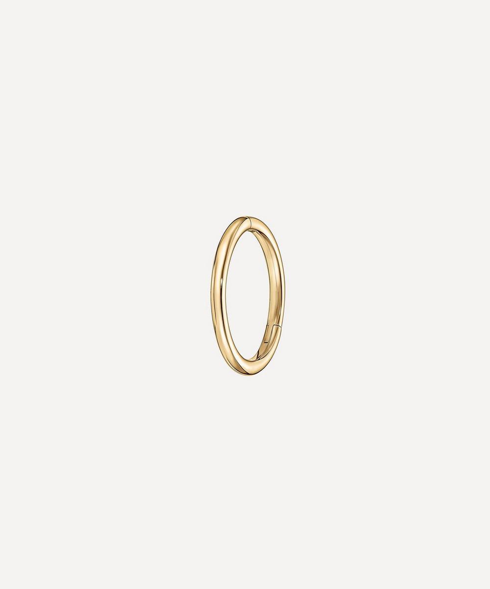 Maria Tash - 14ct 8mm Plain Single Hoop Earring