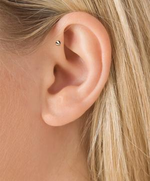 3.5-2.5mm Spike Threaded Stud Earring