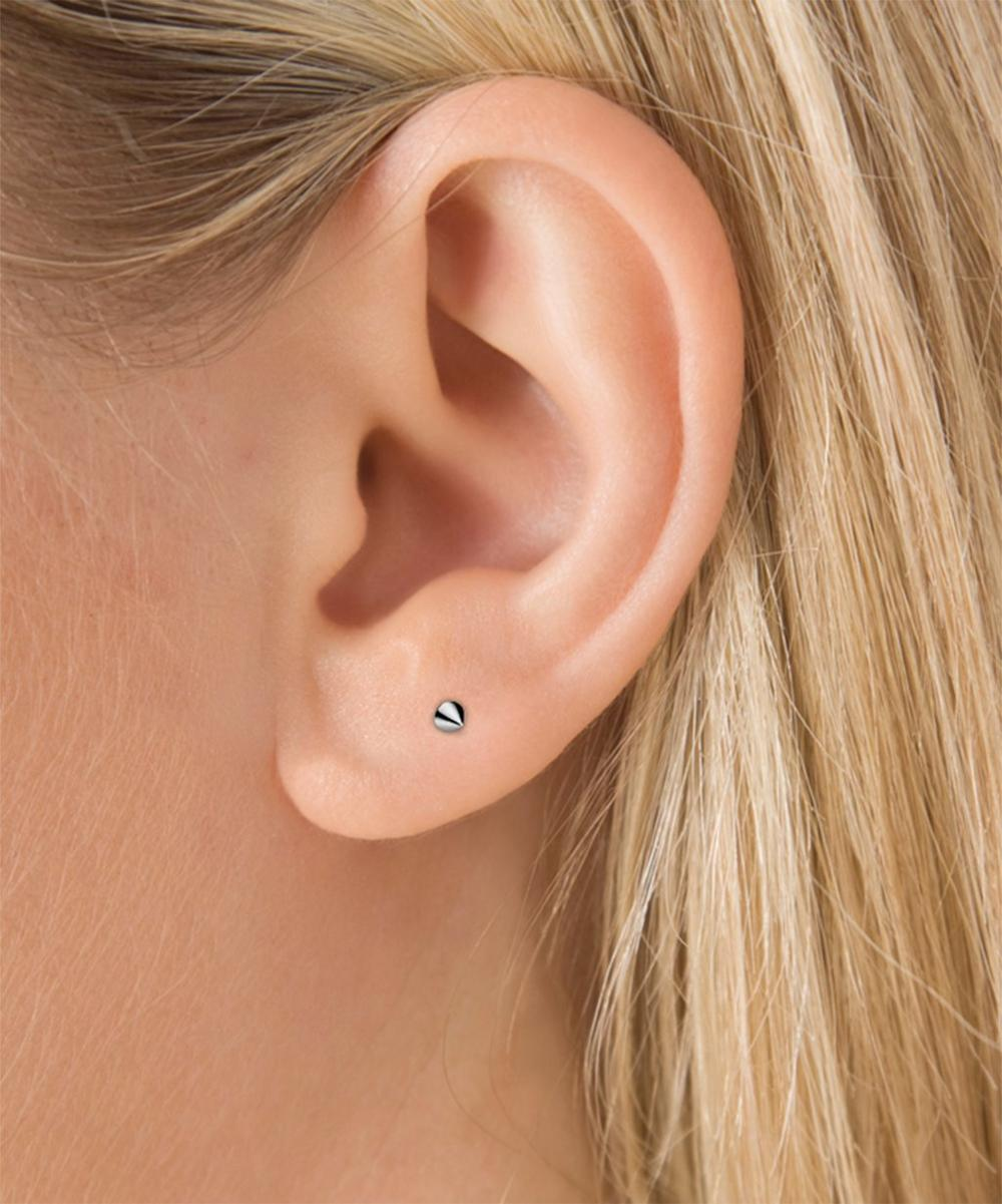 Spike Threaded Stud Earring
