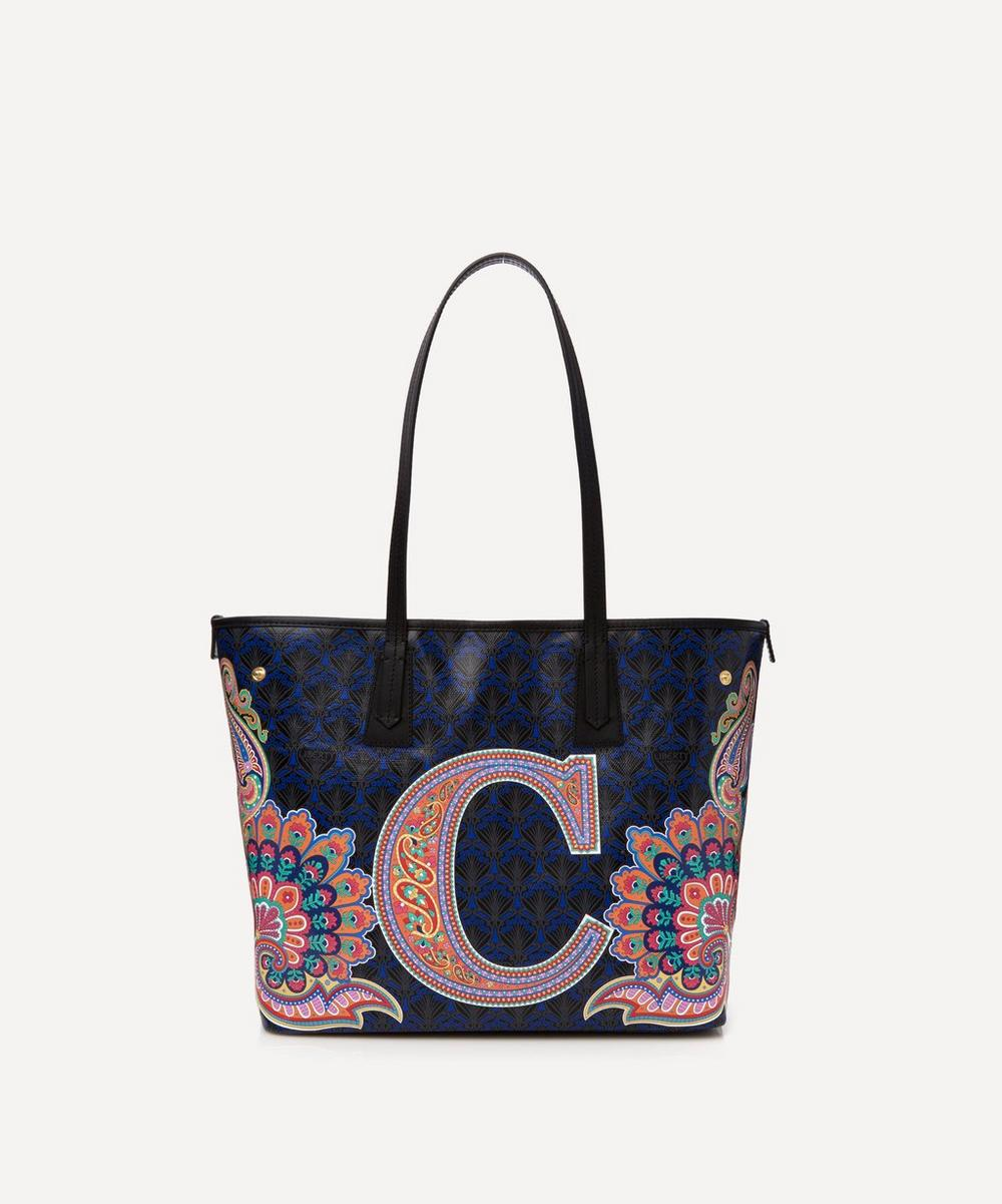 Liberty - Little Marlborough Tote Bag in C Print