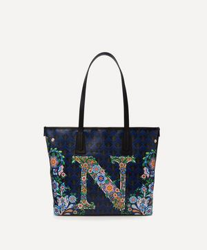 Little Marlborough Tote Bag in N Print