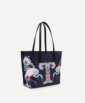 Little Marlborough Tote Bag in T Print