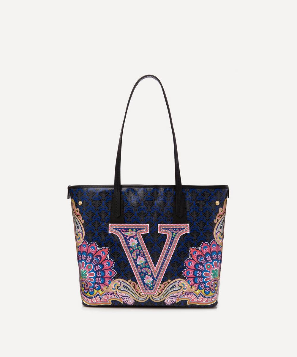 Liberty London Totes LITTLE MARLBOROUGH TOTE BAG IN V PRINT