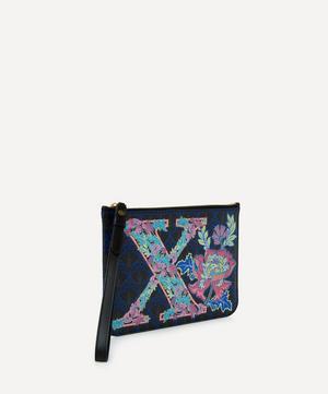 Wristlet in X Print
