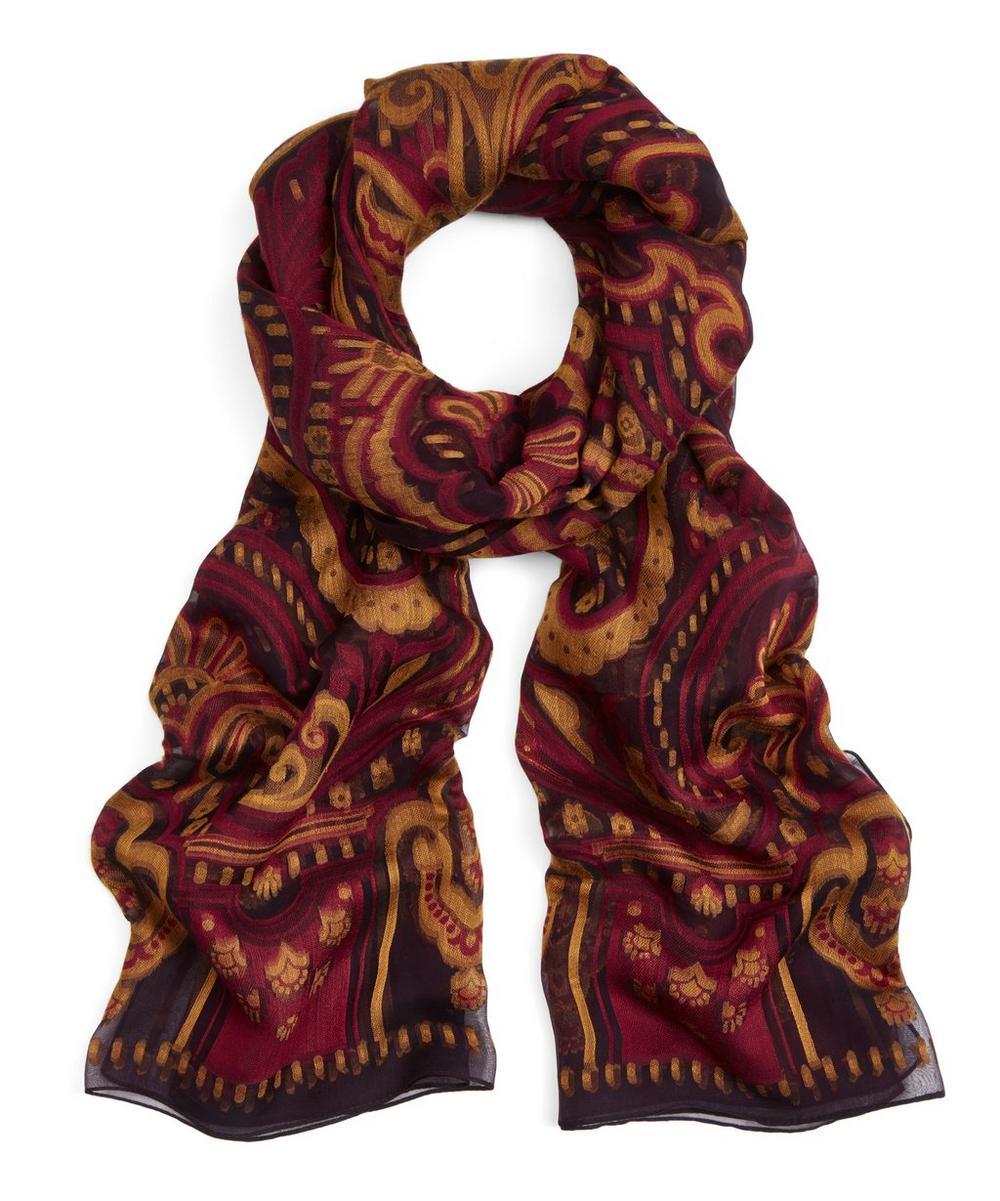 Harlequin Paisley 70X200 Silk Blend Scarf