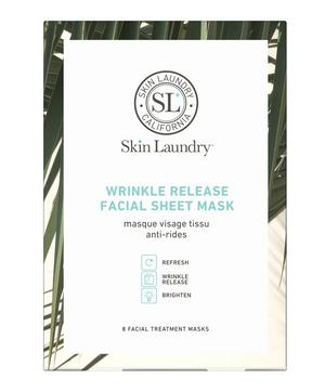 Pack of 8 Wrinkle Release Facial Masks