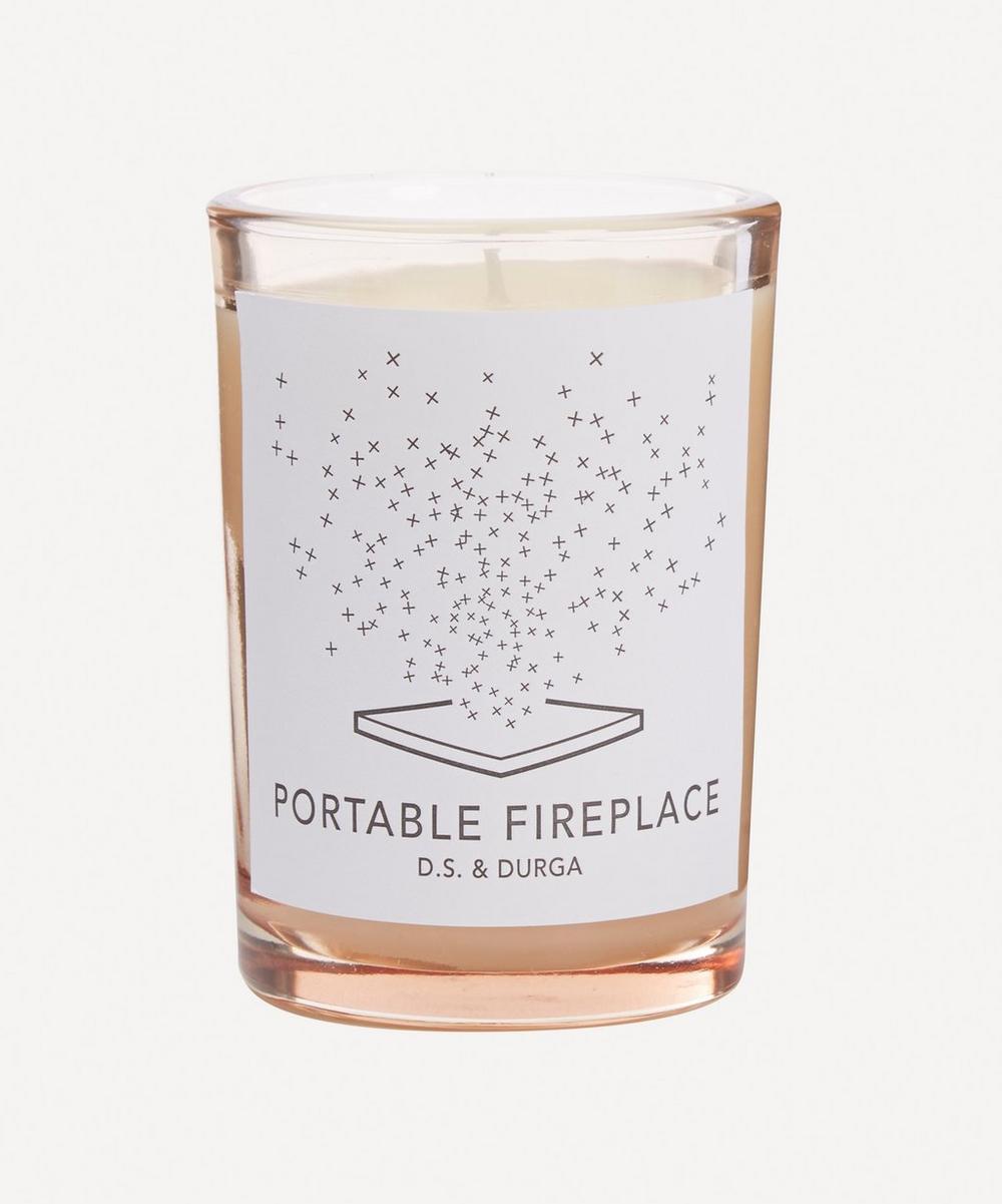 D.S. & Durga - Portable Fireplace Candle 200g