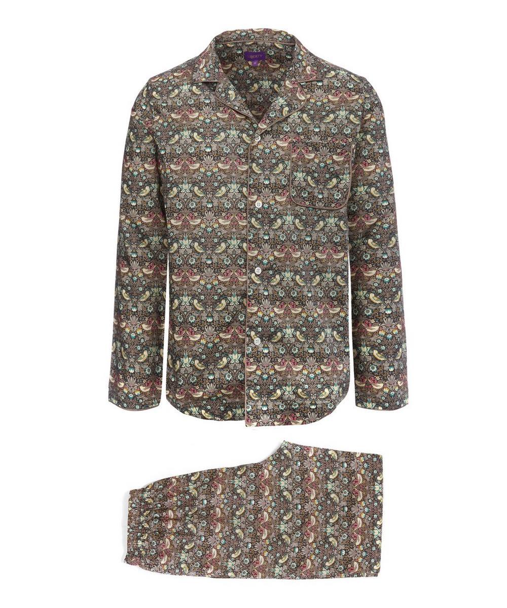 Strawberry Thief Long Tana Lawn Cotton Pyjama Set