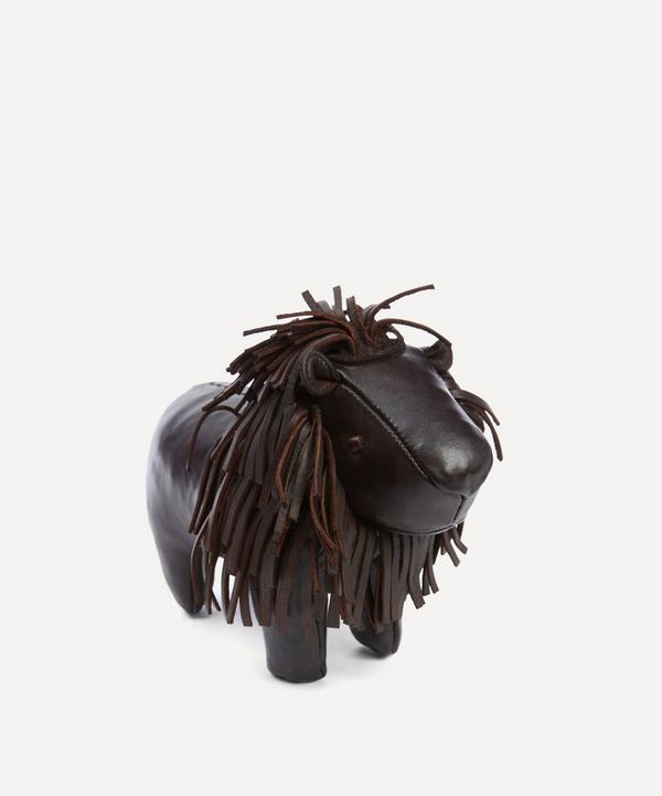 Omersa - Miniature Leather Lion