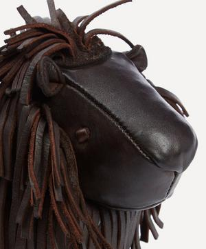 Miniature Leather Lion