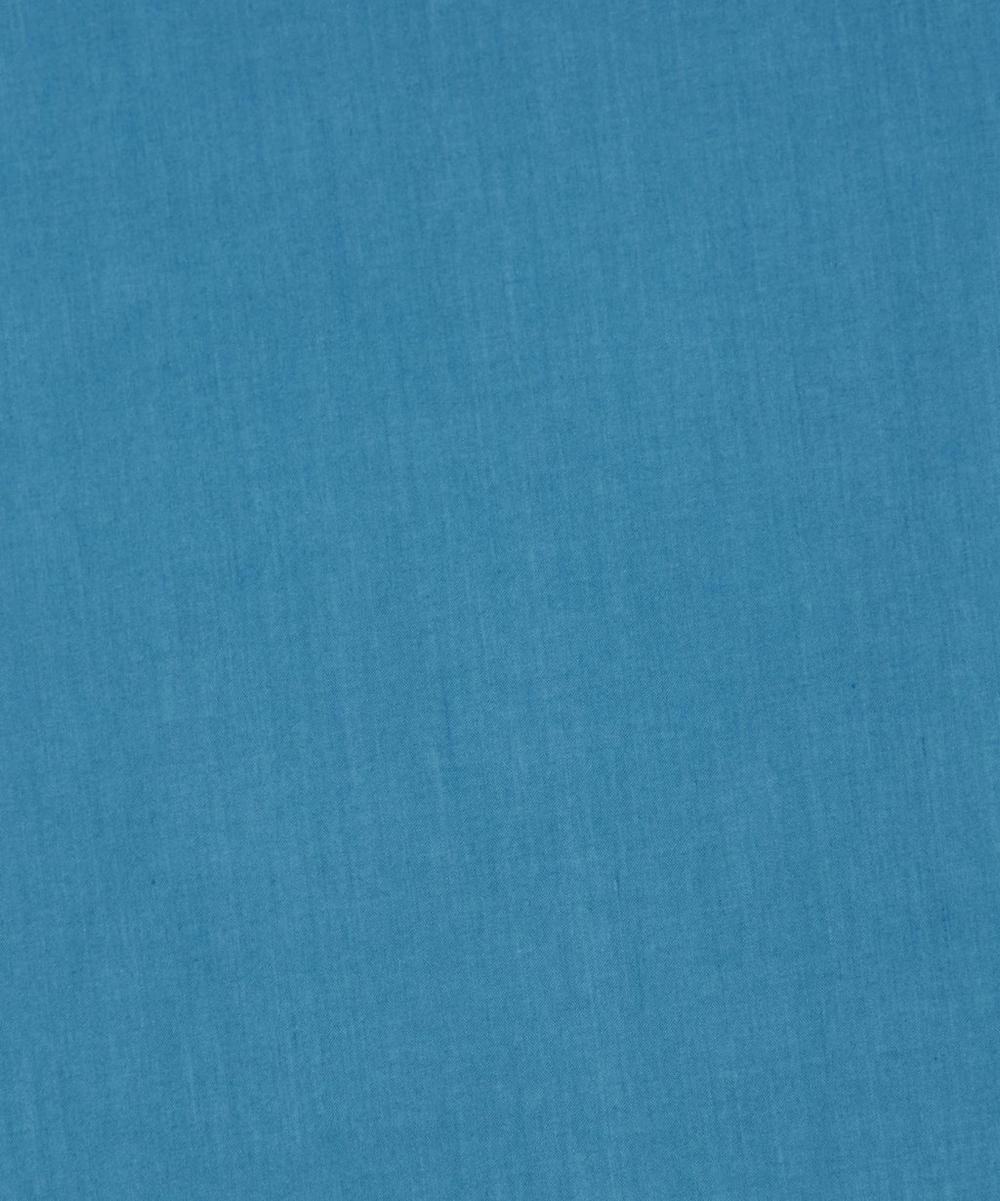 Petrol Teal Plain Tana Lawn Cotton