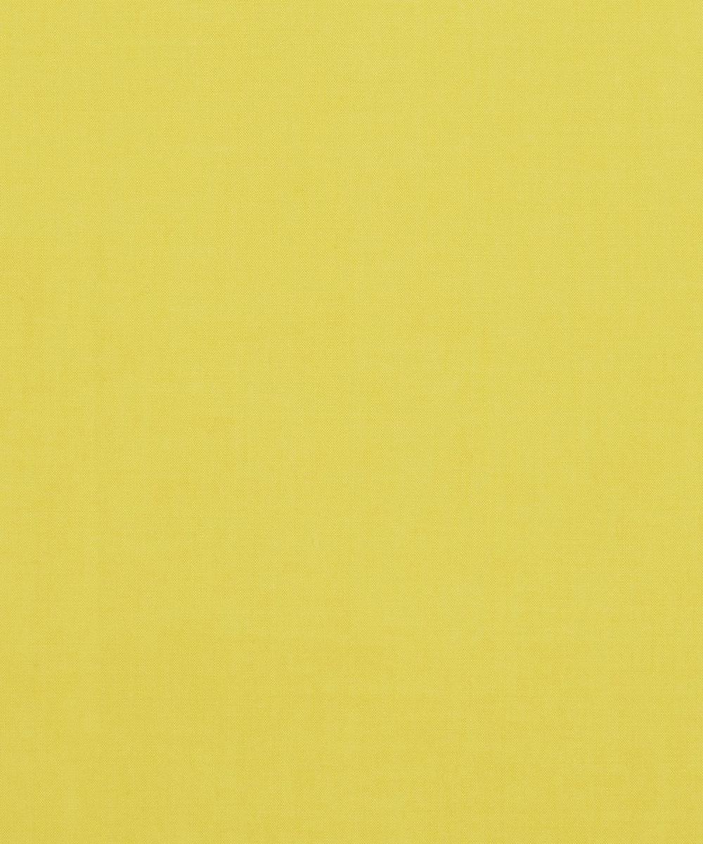 Lemon Yellow Plain Tana Lawn Cotton