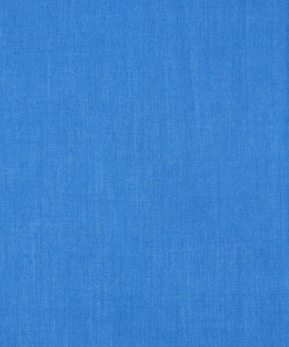 Electric Blue Plain Tana Lawn Cotton
