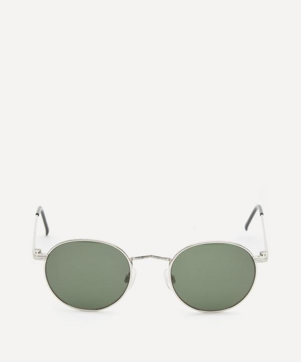 Moscot - Dov Round Silver-Tone Metal Sunglasses