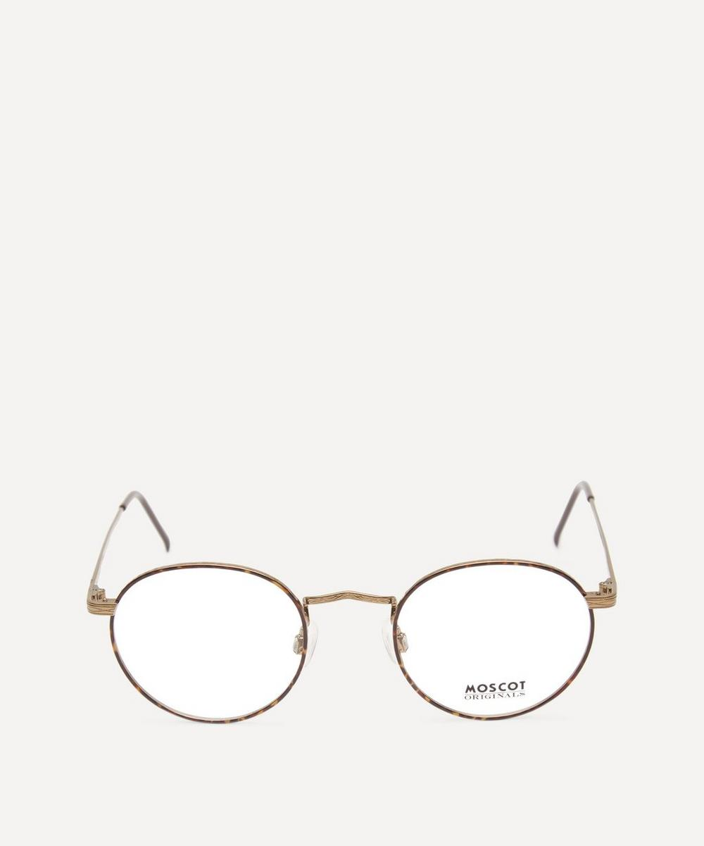 MOSCOT Zev Metal Optical Frames in Antique Gold