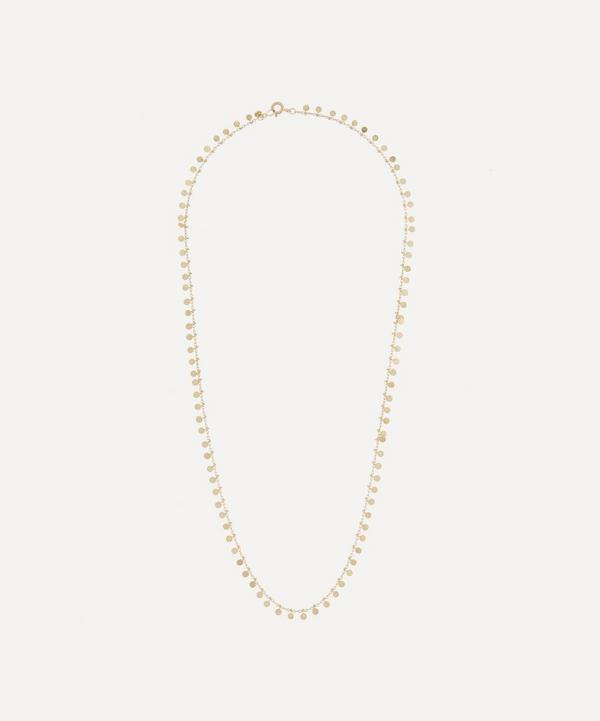 Sia Taylor - Gold Even Dots Necklace