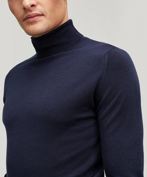 Cherwell Merino Wool Roll-Neck Jumper
