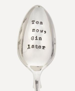 Tea Now, Gin Later Spoon