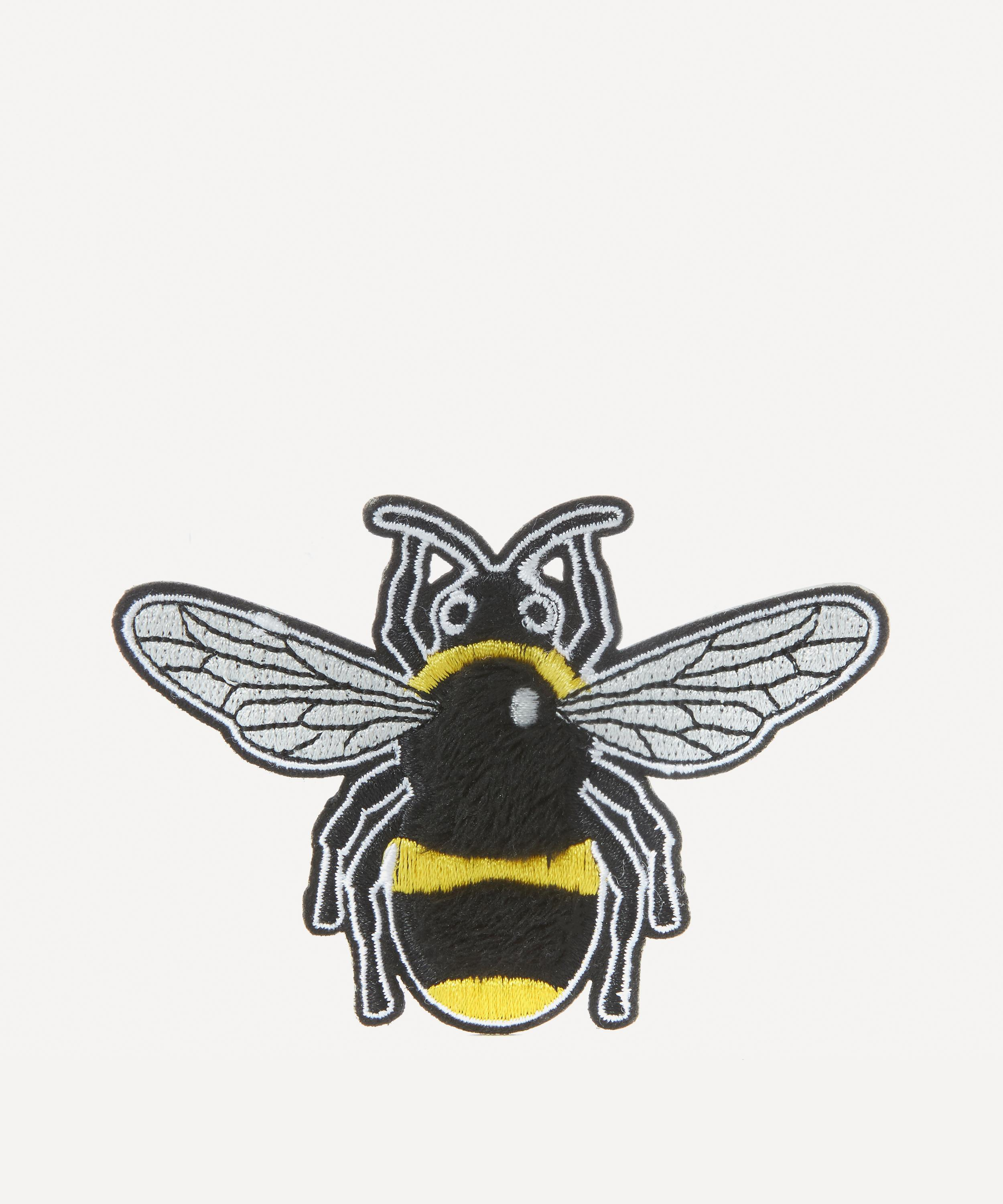4f929f4765101 Embroidered Bee Sticker Patch