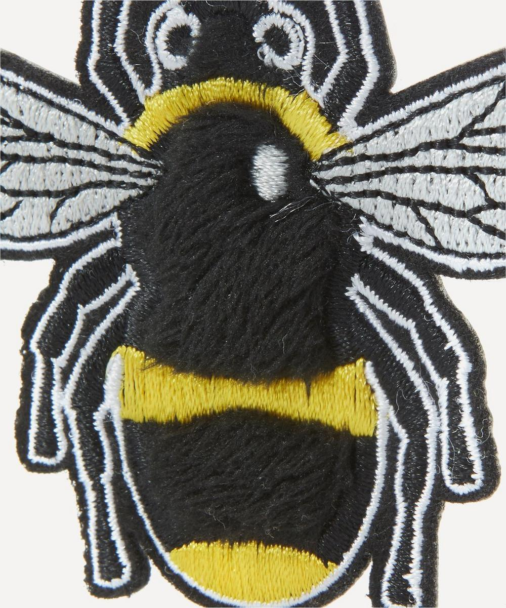 Embroidered Bee Sticker Patch