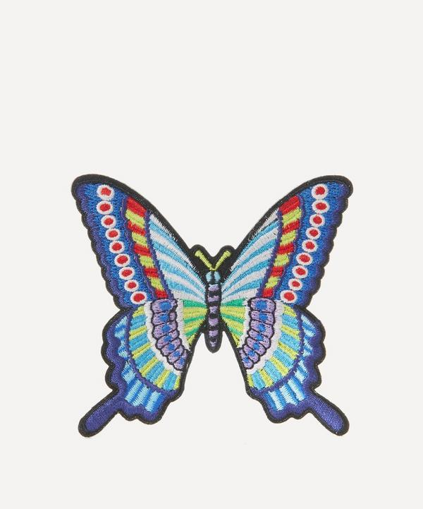 Embroidered Butterfly Sticker Patch