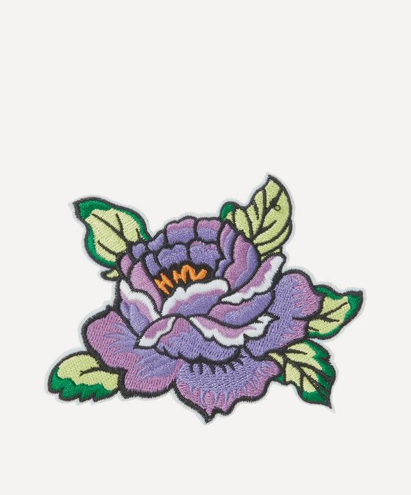 Embroidered Flower 2 Sticker Patch