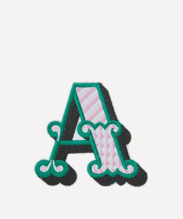 Embroidered Sticker Patch in A