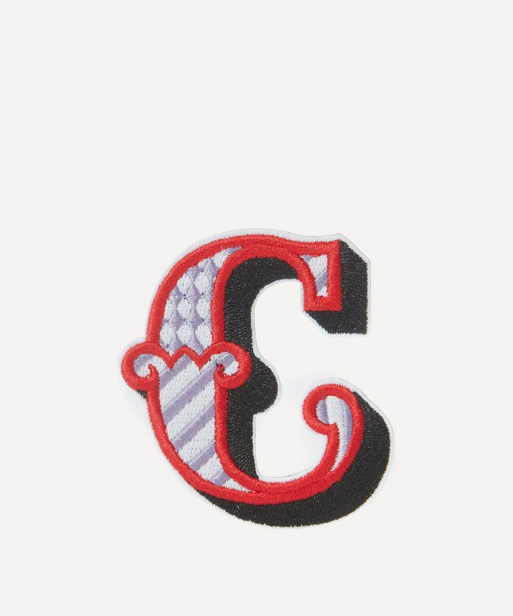 Embroidered Sticker Patch in C