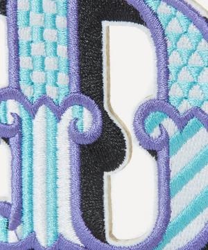 Embroidered Sticker Patch in D
