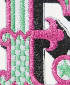 Embroidered Sticker Patch in E