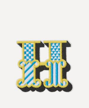 Embroidered Sticker Patch in H