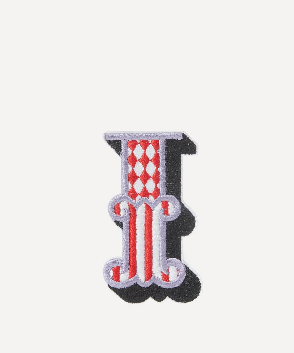 Embroidered Sticker Patch in I