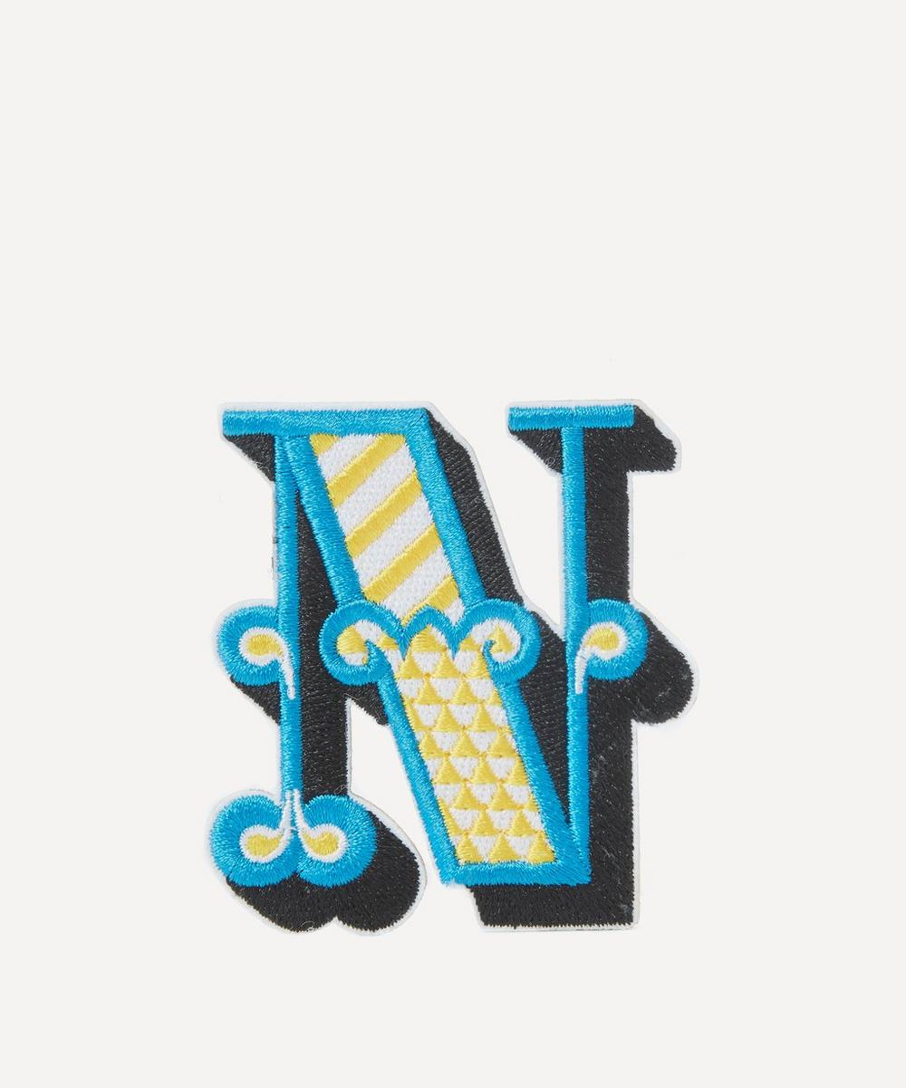 Embroidered Sticker Patch in N