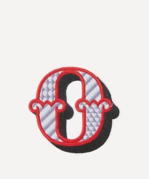 Embroidered Sticker Patch in O