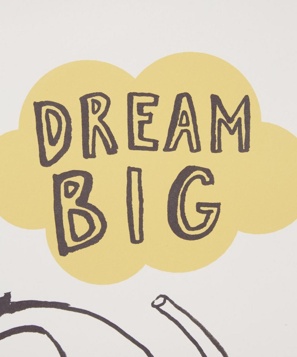 Dream Big Elephant Print