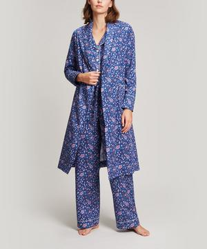 Garden Gates Long Cotton Robe