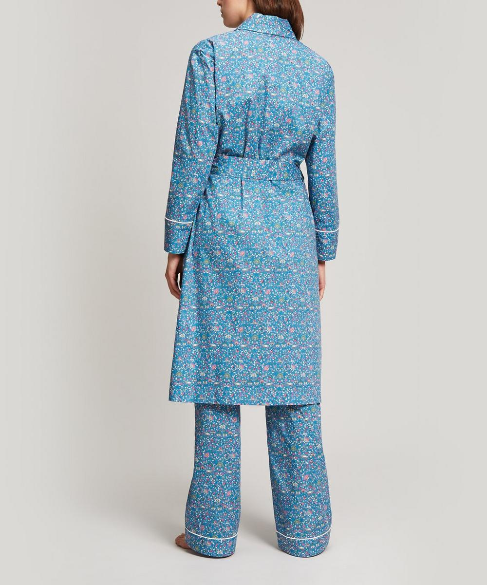 Imran Long Cotton Robe