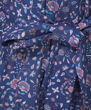 Garden Gates Short Cotton Robe